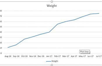 Weight tracking on Jackson