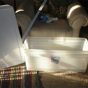 Tubs for Screened Bottom Cricket Cage